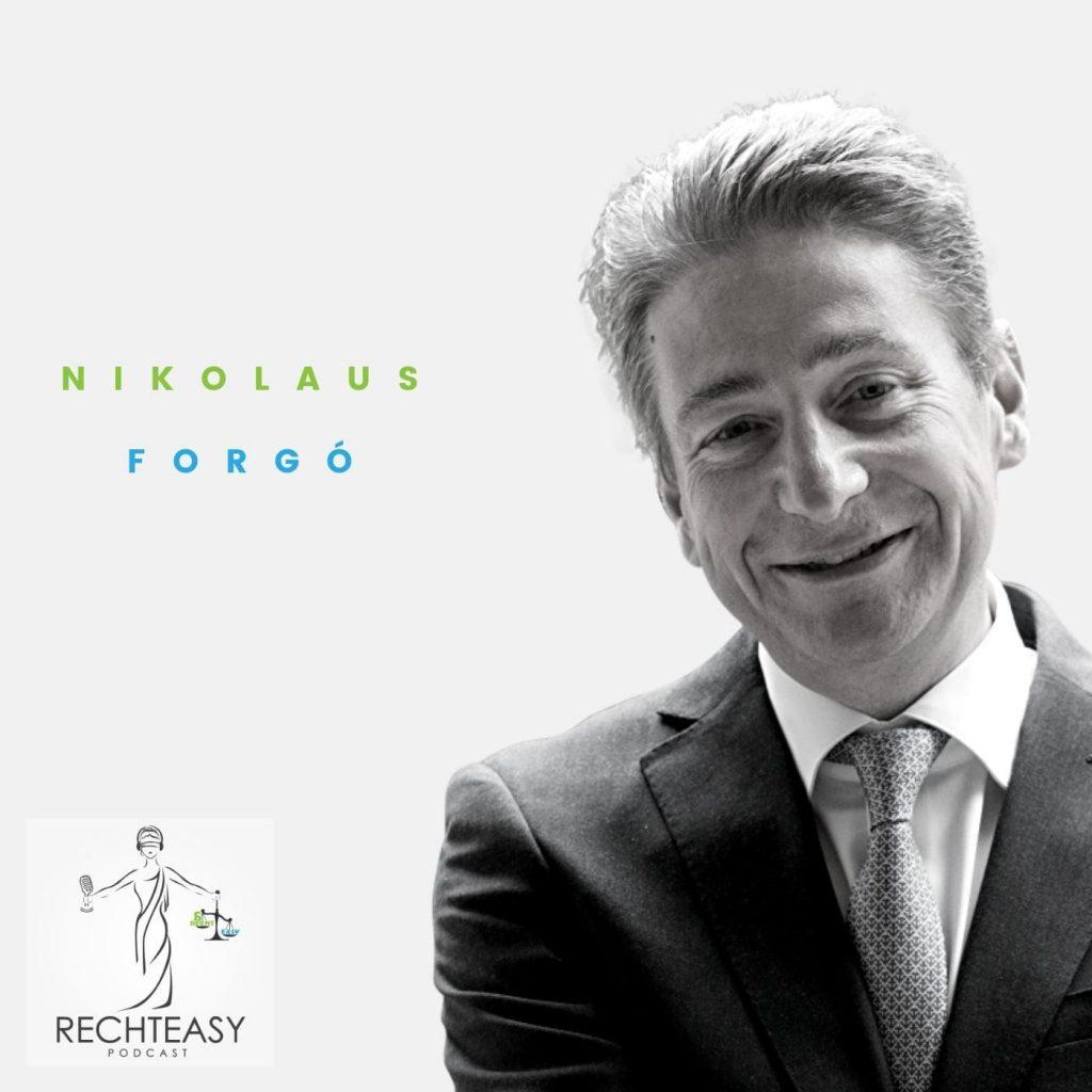 Nikolaus Forgo Podcast 3 Universitätsprofessor & Institutsvorstand am Institut für Innovation und Digitalisierung im Recht