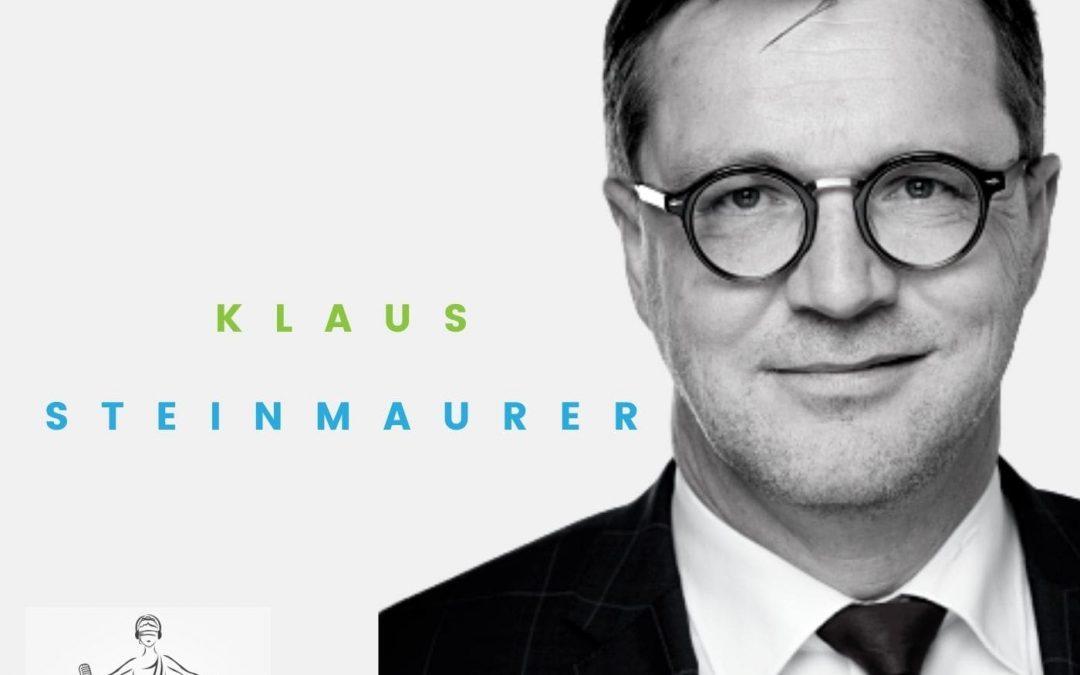 Podcast #10: Dr. Klaus M. Steinmaurer: Geschäftsführer der RTR (Rundfunk und Telekom Regulierungs-GmbH) im Fachbereich Telekommunikation und Post