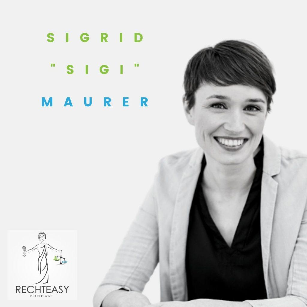 Podcast #13: Sigrid Maurer, BA: Klubobfrau des Grünen Parlamentsklubs und Abgeordnete zum Nationalrat
