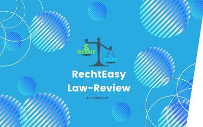 Die RechtEasy Law-Review