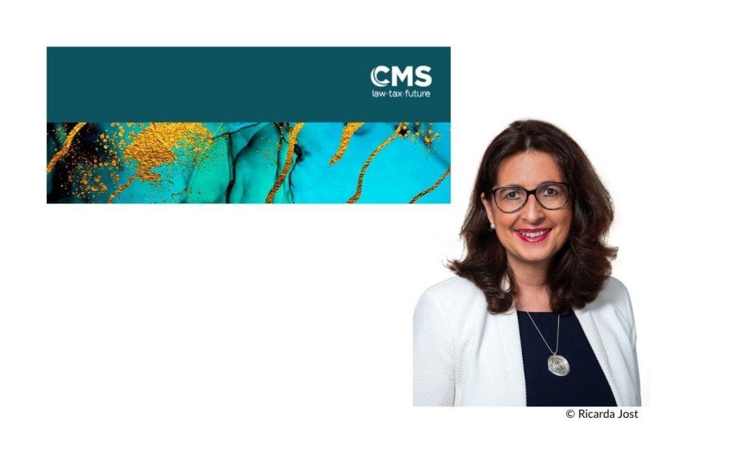 Astrid Valek hat die Leitung der beiden Bereiche Business Development und Marketing & Communications bei CMS Österreich übernommen