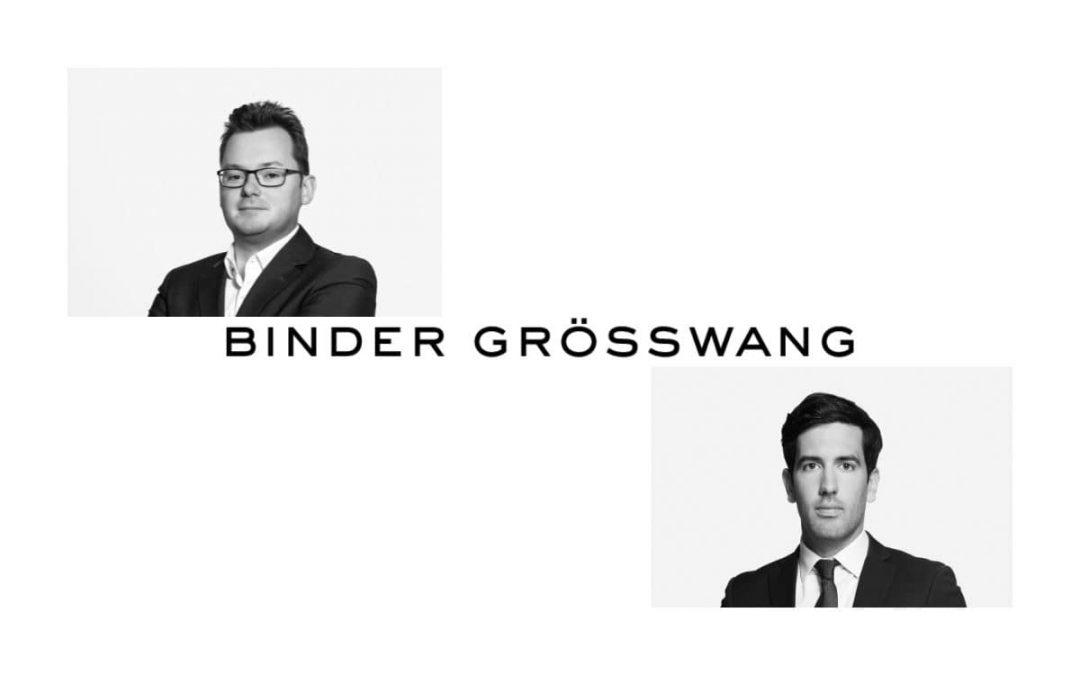 Binder Grösswang berät Blockpit GmbH iZh mit deren Series-A-Finanzierungsrunde in Höhe von USD 10 Mio.