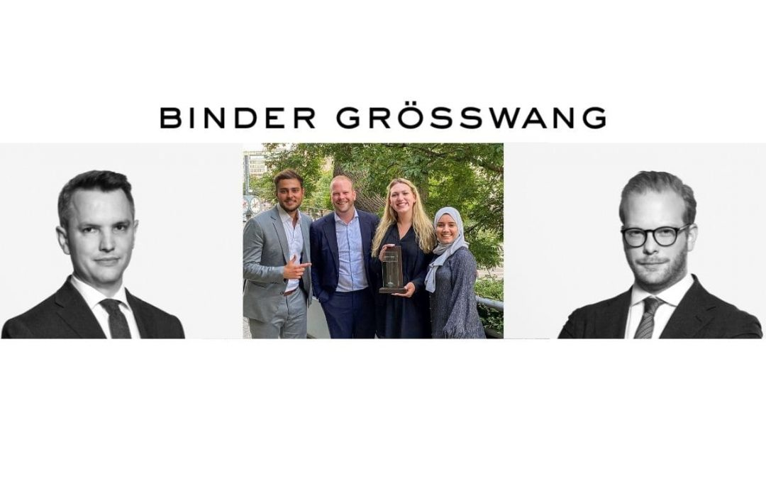 Binder Grösswang-Team gewinnt erneut das Elsa M&A Moot Court Finale auf Bundesebene