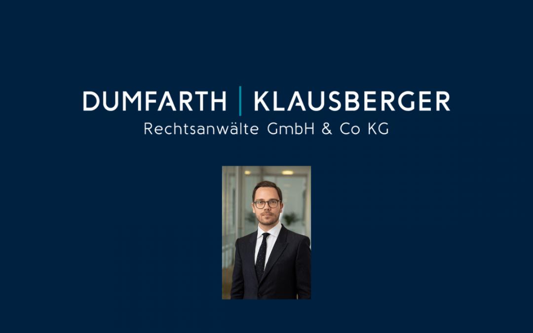Dr. Dominik Brunner ist neuer Rechtsanwalt bei der Linzer Wirtschaftskanzlei DUMFARTH KLAUSBERGER Rechtsanwälte